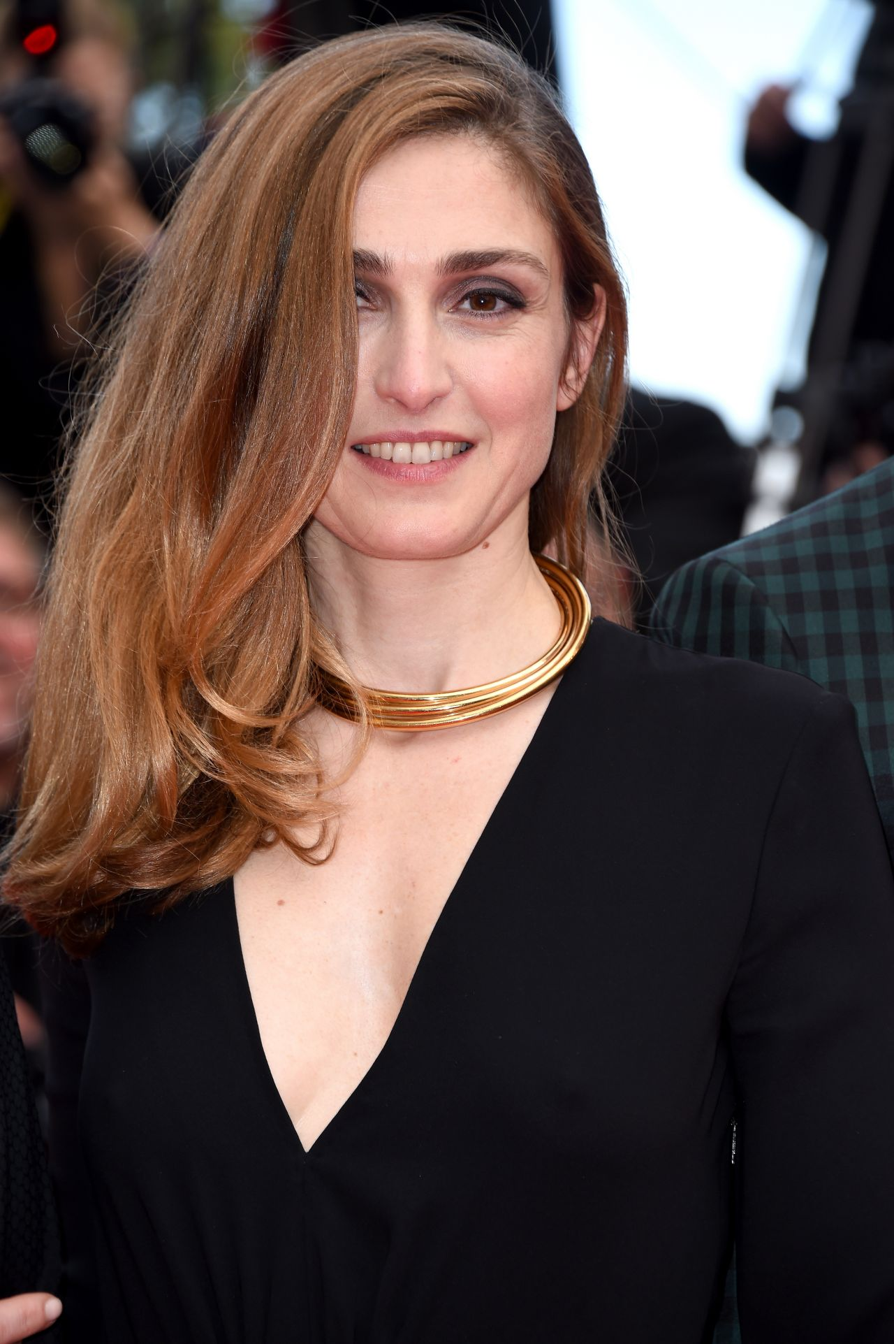 Julie Gayet Saint Laurent Premiere 2014 Cannes Film