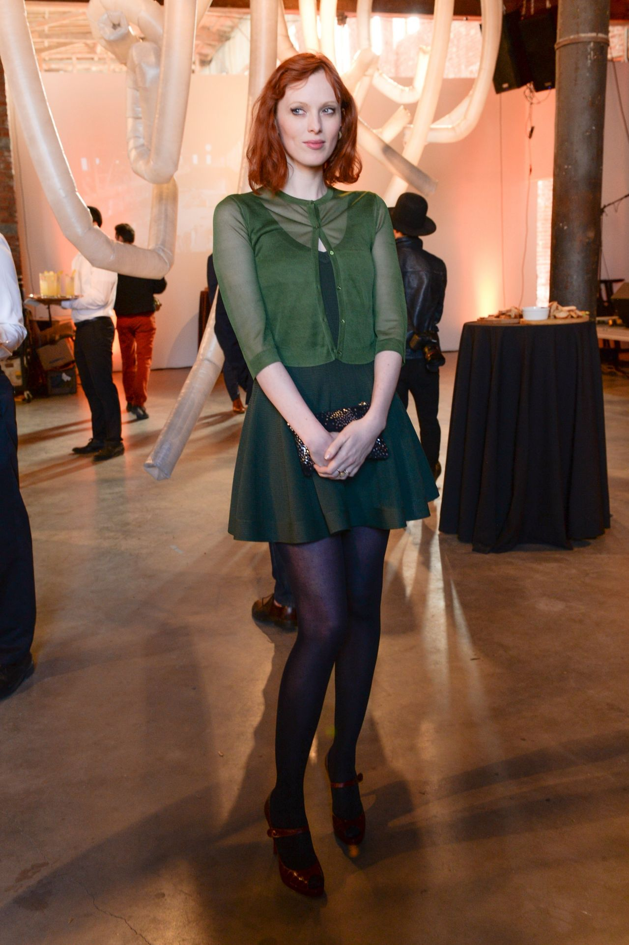 Karen Elson - PIONEER WORKS Village Fete - May 2014