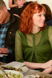 Karen Elson - PIONEER WORKS Village Fete - May 2014