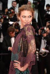Karlie Kloss – 'Grace of Monaco' Premiere at 2014 Cannes Film Festival