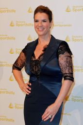 Katarina Witt - Golden Sports Pyramid Ceremony in Berlin - May 2014