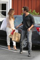 Kate Beckinsale Shopping Brentwood - May 2014