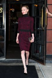 Kate Bosworth Style - Leaving Her Hotel in New York City - May 2014