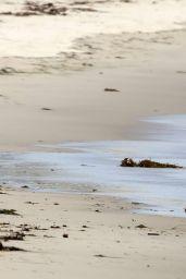 Kate Hudson in a Bikini at a beach in Malibu - May 2014