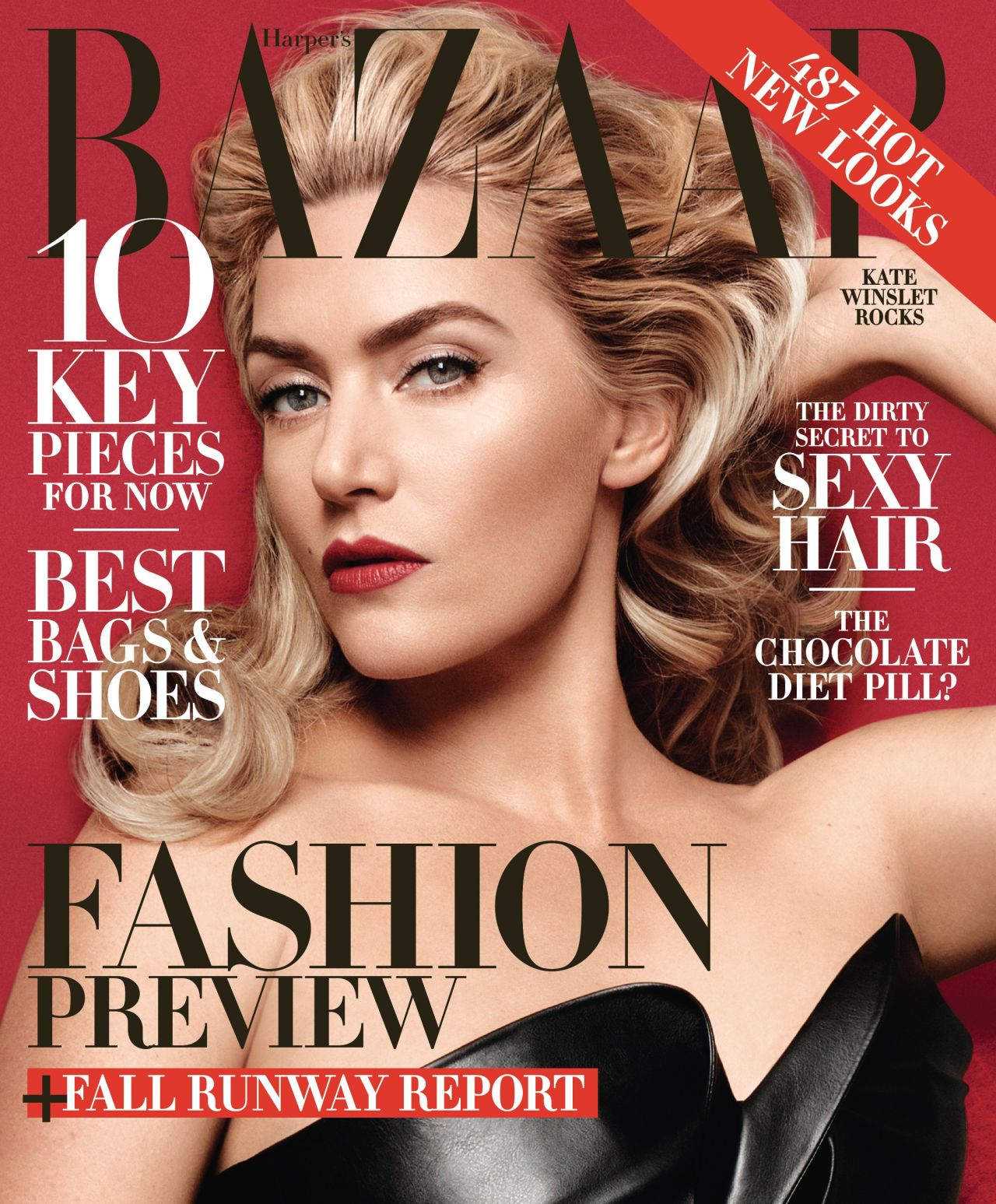 Kate Winslet - Harpers Bazaar Magazine - June/July 2014 Issue