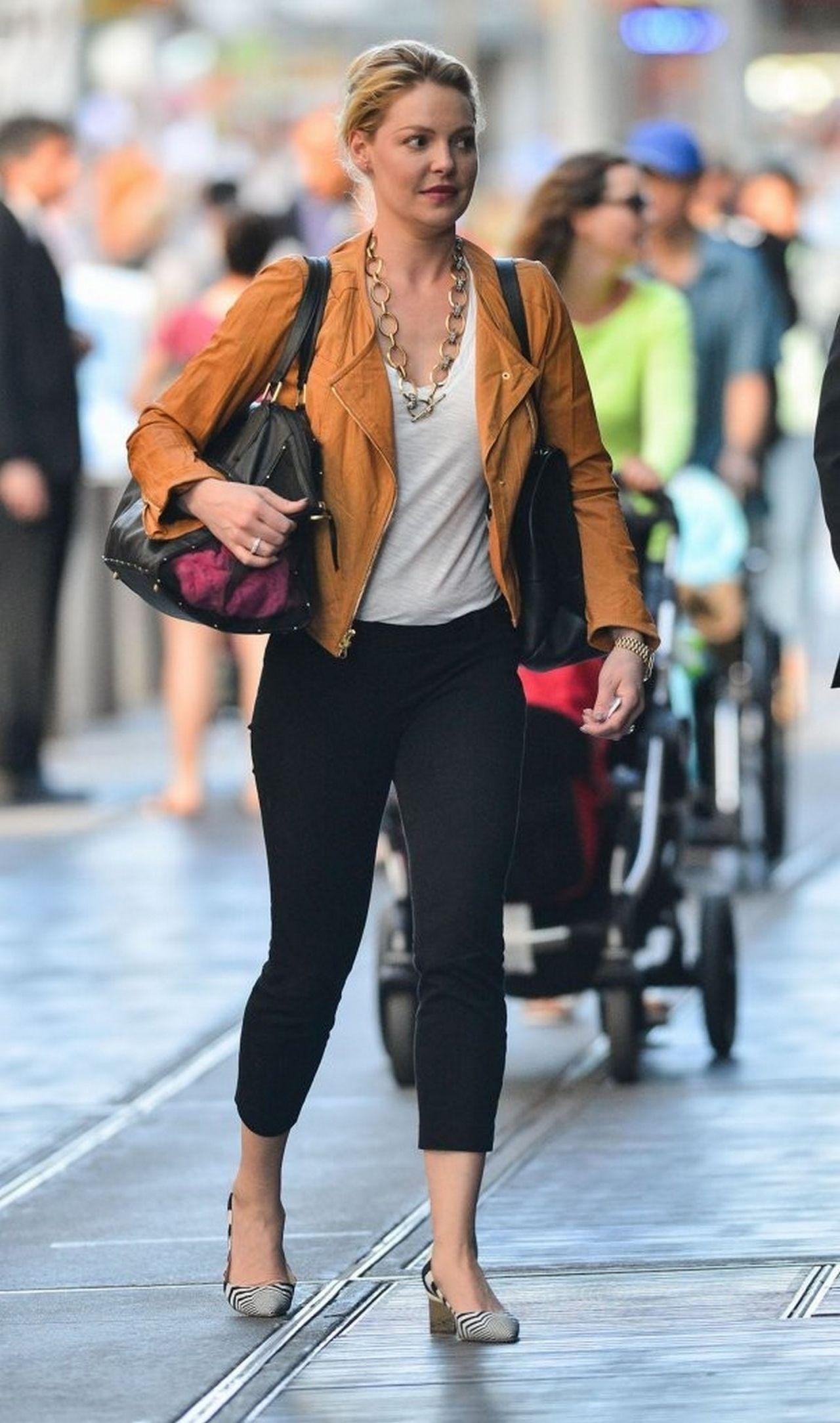 Katherine Heigl in New York City - May 2014