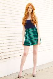 Katherine McNamara Photoshoot in Los Angeles - May 2014