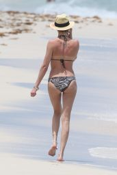 Katie Cassidy Bikini Candids - Beach in Miami – May 2014