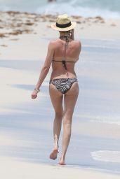 Katie Cassidy Bikini Candids - Beach in Miami – May 2014