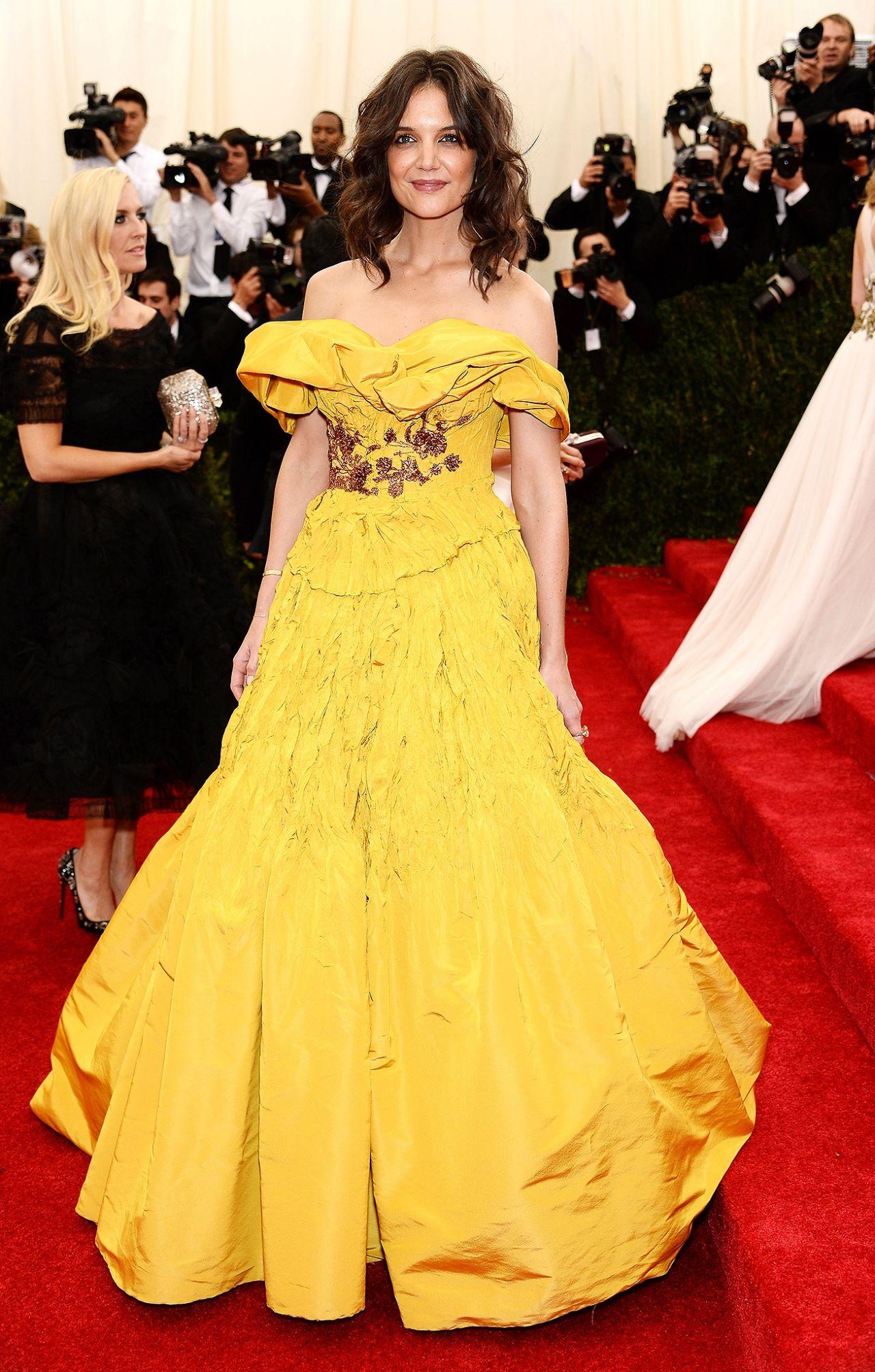 Katie Holmes – 2014 Met Costume Institute Gala