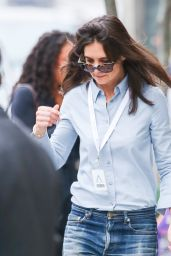 Katie Holmes in Jeans - Out in New York City - May 2014