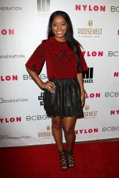 Keke Palmer – Nylon Magazine Young Hollywood Party – May 2014