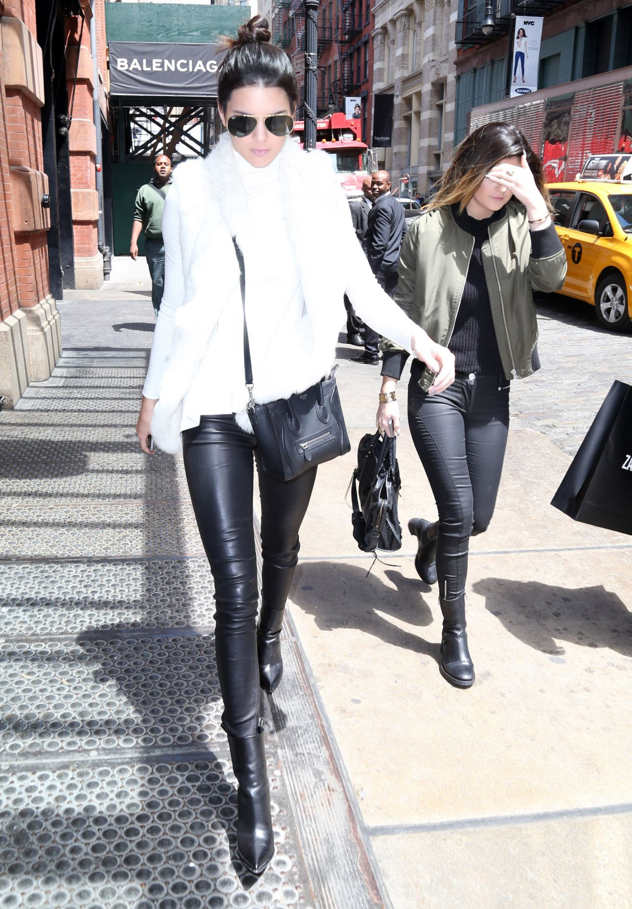Kendall Jenner Casual Style - Out in New york City - May 2014