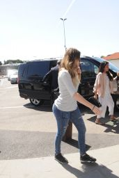 Khloe Kardashian, Kylie Jenner & Kendall Jenner - Departing On A Flight At Aeroporto di Firenze in Florence - May 2014