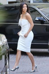Kim Kardashian – Going to Her Bridal Shower - May 2014