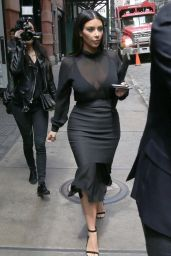 Kim Kardashian in New York City - May 2014