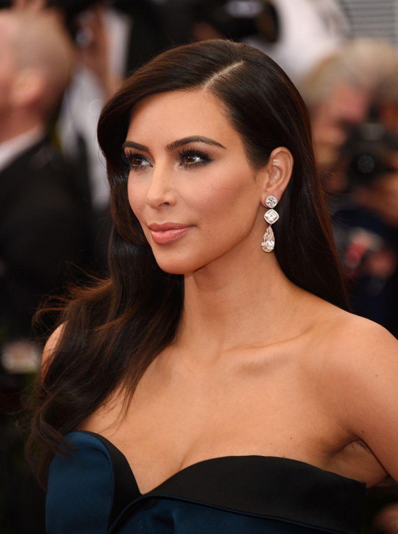 Kim Kardashian Interviews Kylie Jenner About Her Best: Kim Kardashian Wearing Givenchy Couch Dress