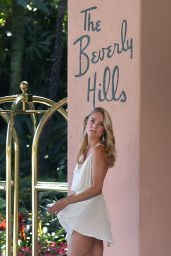 Kimberley Garner at the Hotel The Beverly Hills in Los Angeles - May 2014