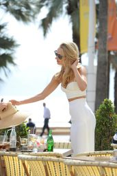 Kimberley Garner - Out in Cannes - May 2014