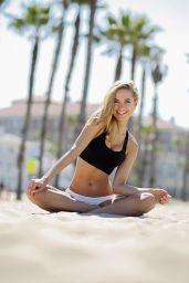 Kimberley Garner - Photoshoot at Santa Monica Beach - April 2014
