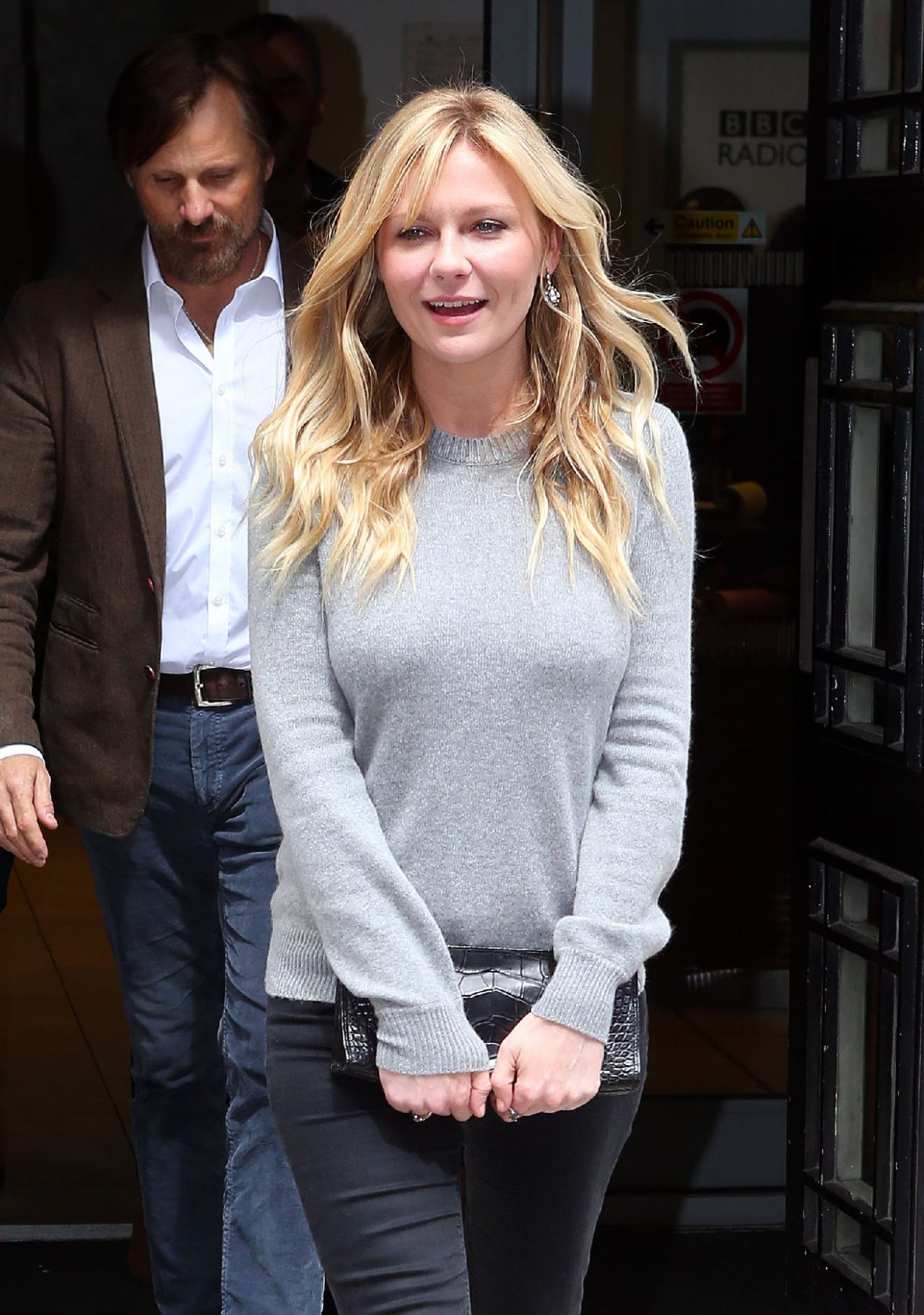 Kirsten Dunst Casual Style Leaving The Bbc Radio 2