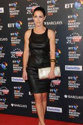 Kirsty Gallacher on Red Carpet - 2014 BT Sport Industry Awards in London
