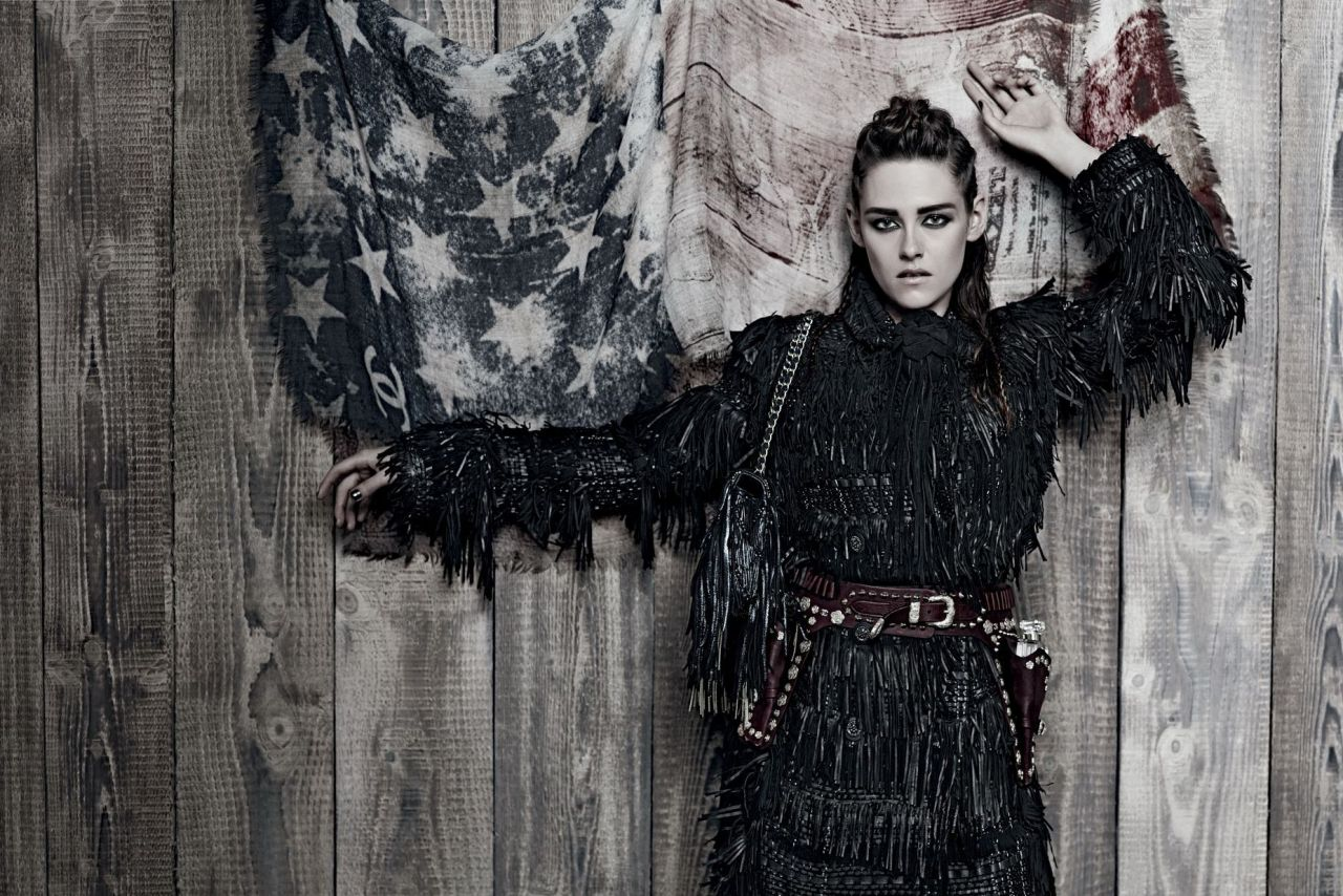 Kristen Stewart - Karl Lagerfield Photoshoot for Chanel Paris/Dallas - Pre-Fall 2014 Campaign