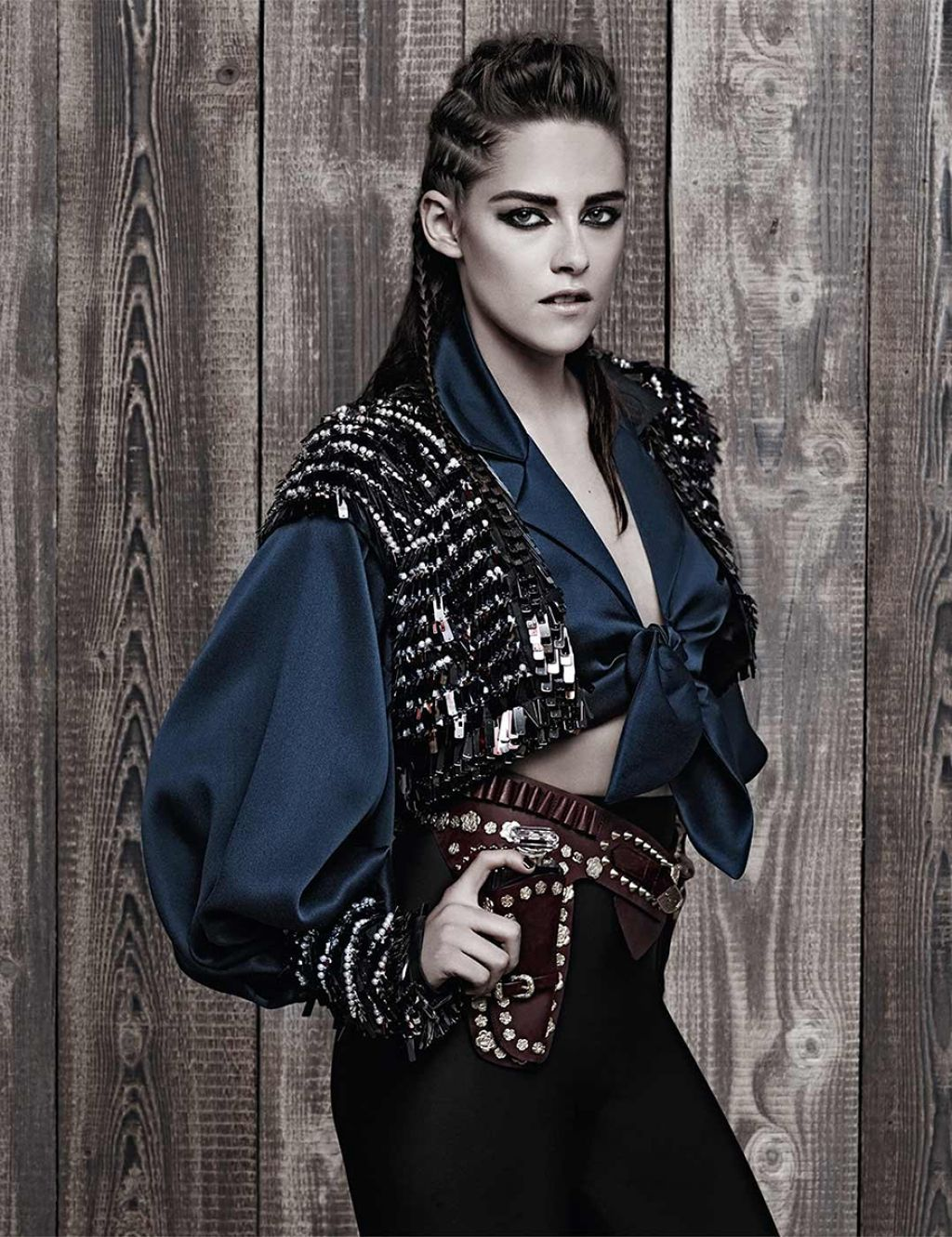 Photoshoot For Vogue Magazine November 2015: Karl Lagerfield Photoshoot For Chanel