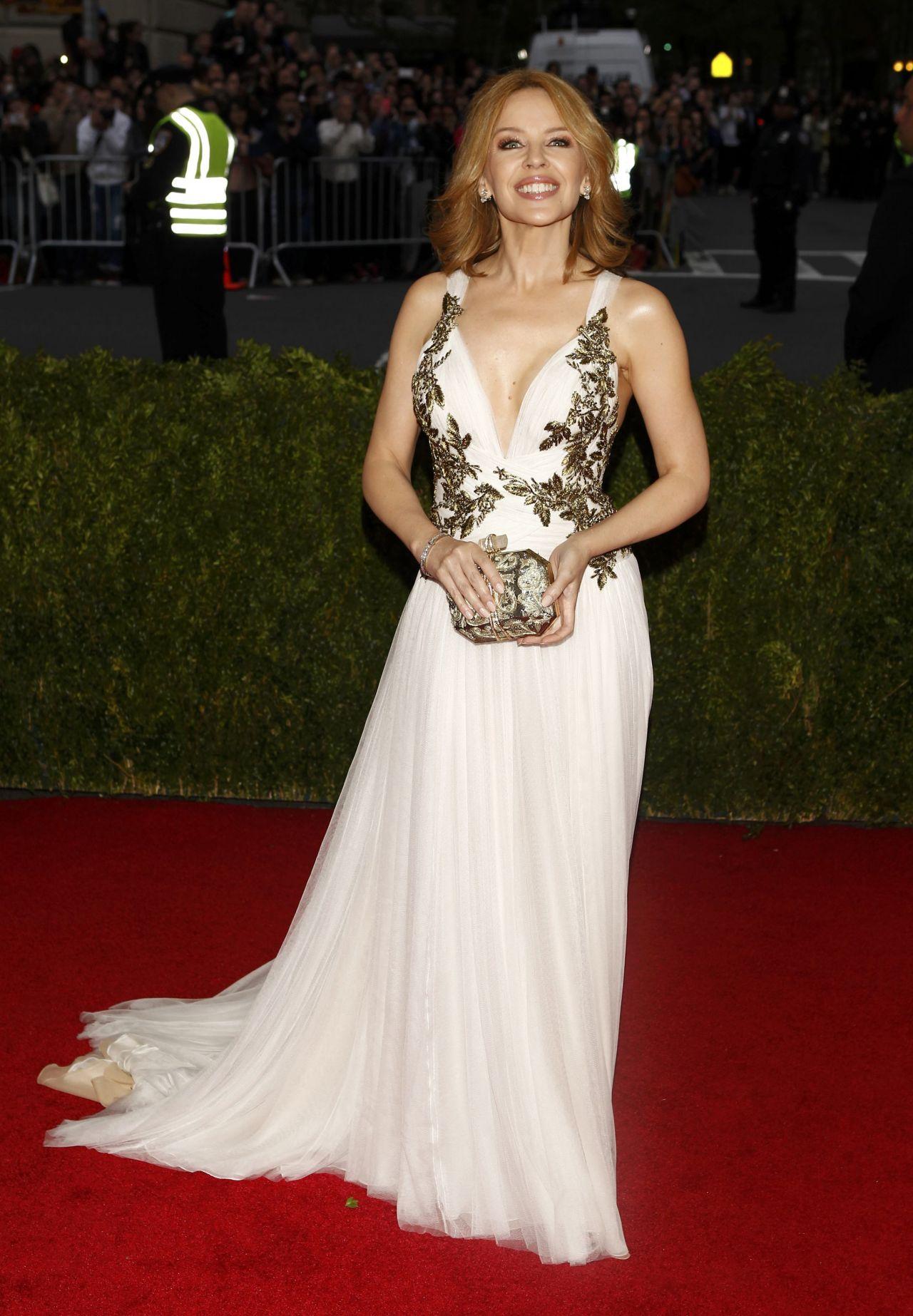 Kylie Minogue 2014 Met Costume Institute Gala
