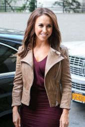 Lacey Chabert Casual Style - Out in NYC - May 2014