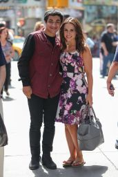 Lacey Chabert - Leaving MTV Sudios in NYC - May 2014