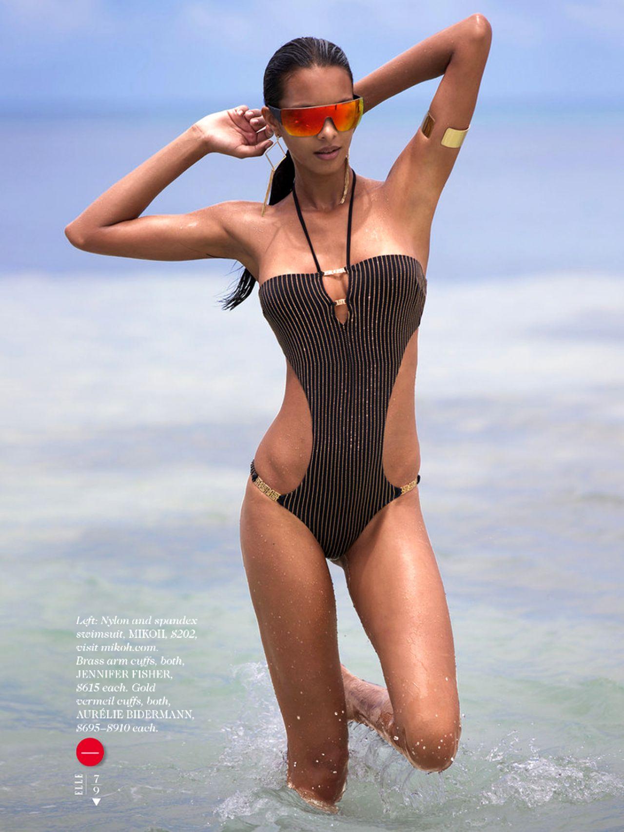 Lais Ribeiro - Elle Magazine June 2014 Issue