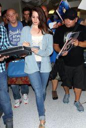 Lana Del Rey - Arriving at LAX Airport - May 2014