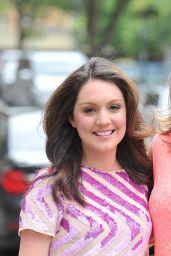 Laura Tobin & Charlotte Hawkins - 2014 Lorraine