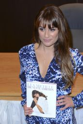 Lea Michele - Signing of