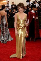 Lea Michele Wearing Altuzarra Gown – 2014 Met Costume Institute Gala