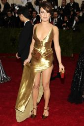 Lea Michele Wearing Altuzarra Gown – 2014 Met Costume Institute Gala