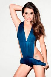 Lea Michelle - Photoshoot for Brunete Ambition 2014