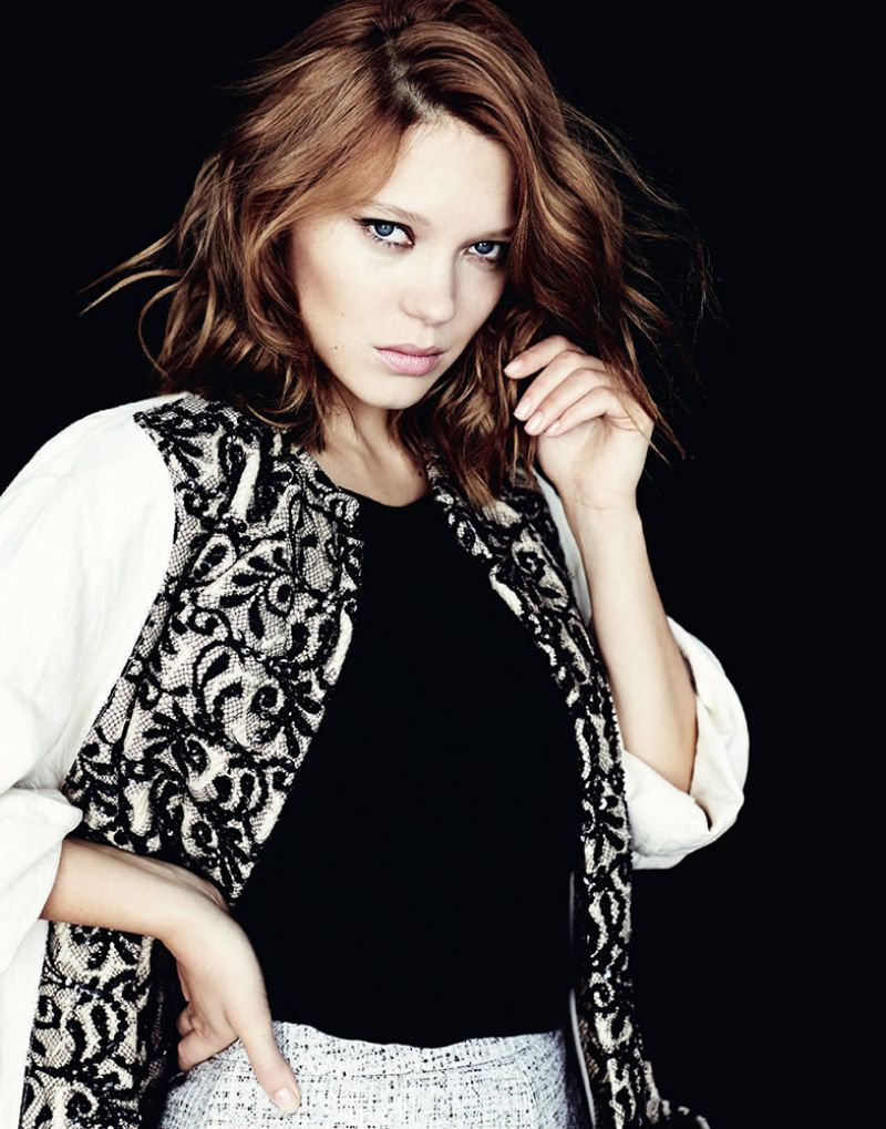 Lea Seydoux - Photoshoot for Marie Claire Magazine (Russia) - April 2014 Issue