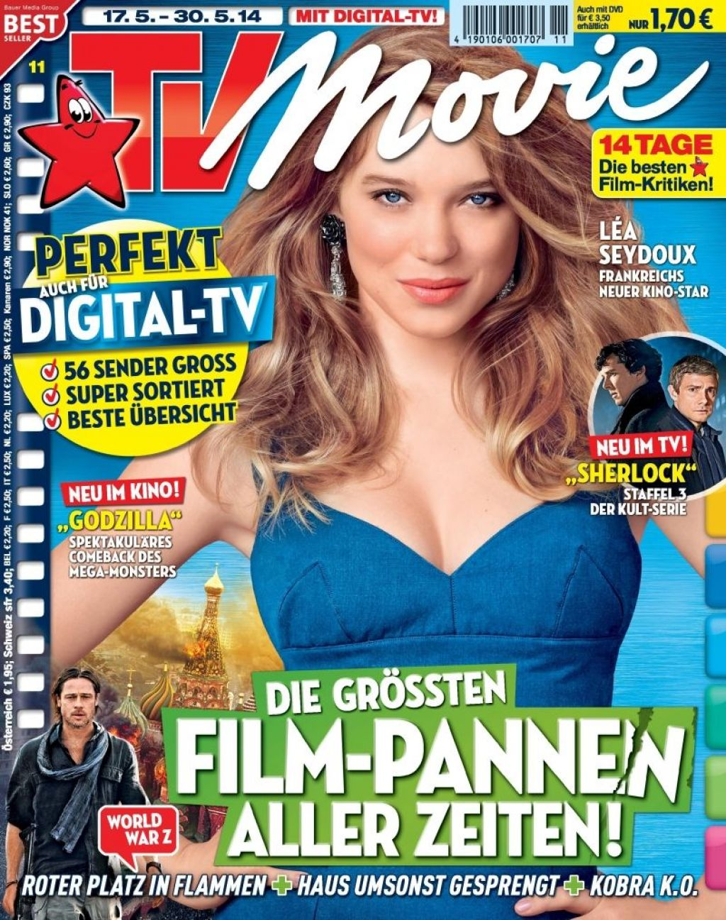 Lea Seydoux - TV Movie Magazine May 2014 Issue