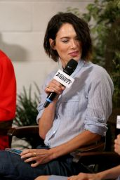 Lena Headey at Variety Studio Panel 2014 – Day Two