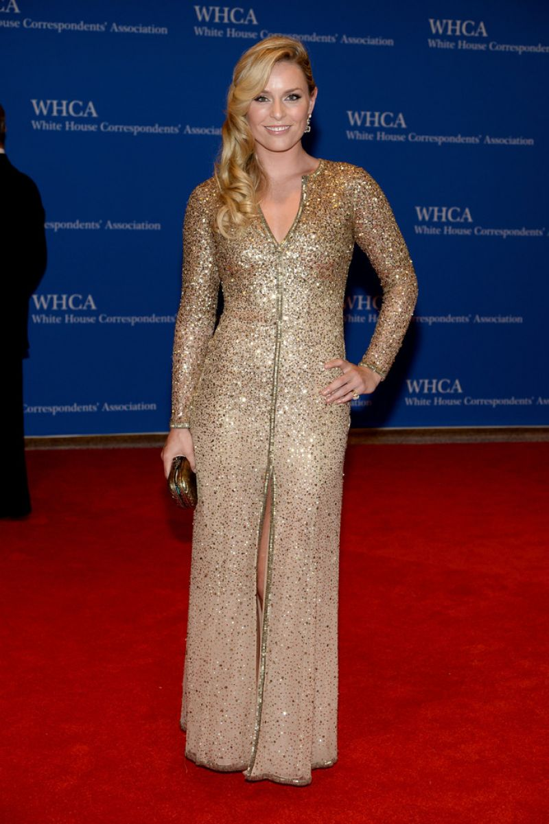 Lindsey Vonn – 2014 White House Correspondents' Dinner in Washington