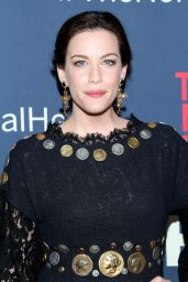 Liv Tyler Wearing Dolce & Gabbana Mini Dress – 'The Normal Heart' Premiere in New York City