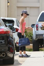 Lori Loughlin in Tights - Out in Beverly Hills - May 2014