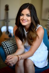 Lucy Hale - Jordan Strauss Photoshoot 2014
