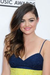 Lucy Hale Wearing Alex Perry Dress - 2014 Billboard Music Awards in Las Vegas