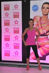 Lucy Mecklenburgh in Spandex - Hold a Fitness Workout Exercise Session in Manchester