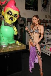 Maitland Ward - Princess Leia Photoshoot - Meltdown Comics in Los Angeles - May 2014