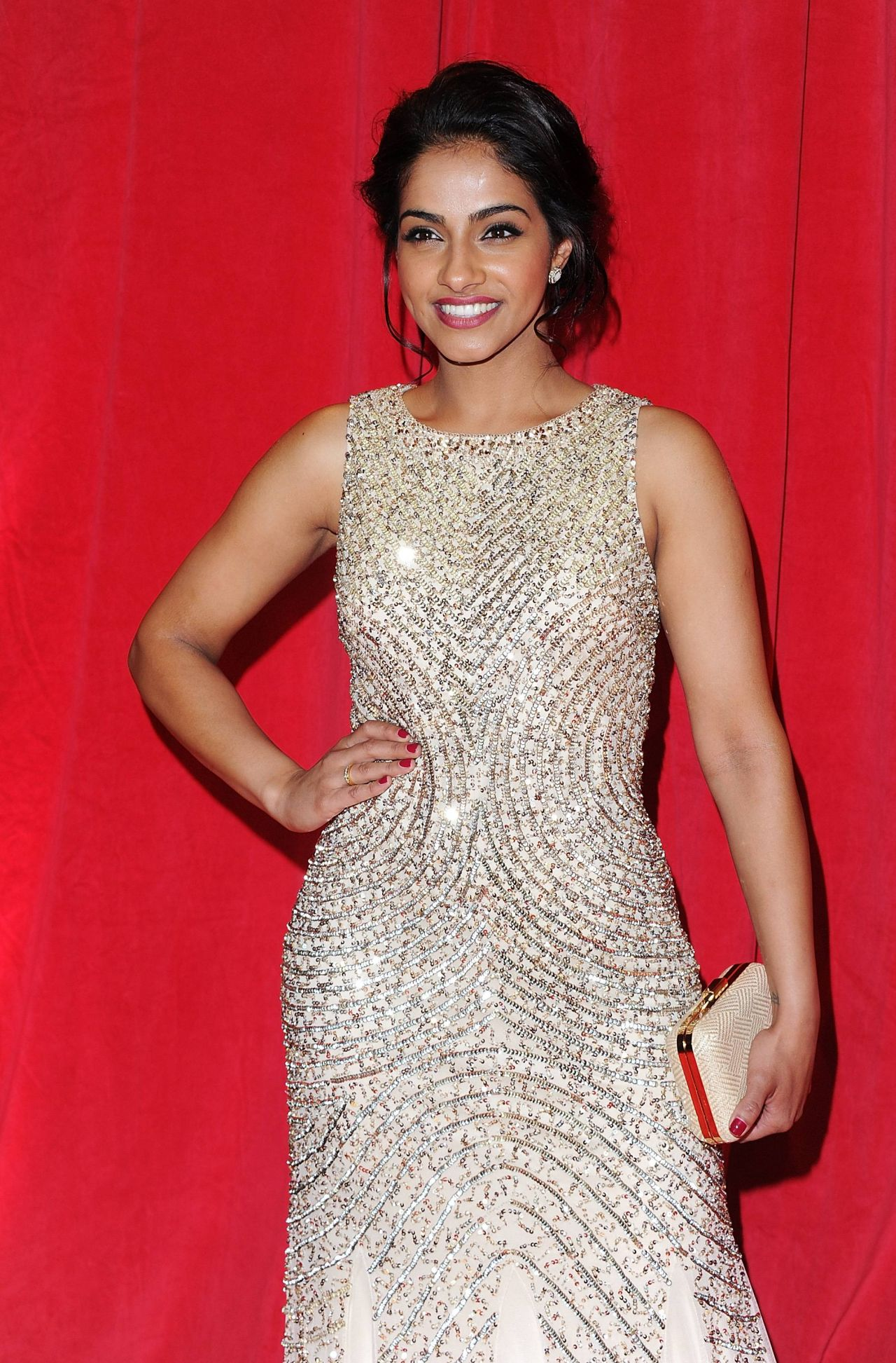 Mandip Gill - 2014 British Soap Awards in London