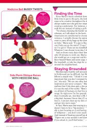 Maria Menounos - FitnessRX Magazine June 2014 issue